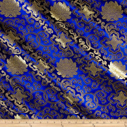 Chinese Brocade Sateen Royal Fabric