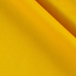 Pon Te Am Scuba Knit Golden Yellow Fabric