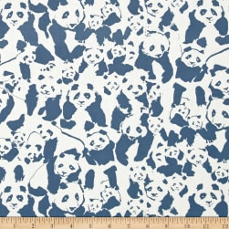 Art Gallery Pandalicious Pandalings Pod Night Fabric