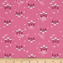 Art Gallery Playground Posy Chain Pinktense Fabric
