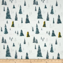 Art Gallery Heartland Pinetree Daybreak Fabric
