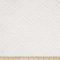 Lightweight Sweater Knit Chevron Ivory Fabric