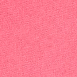 French Terry Neon Pink Fabric