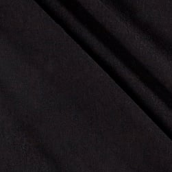 French Terry Knit Black