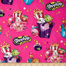 Moose Shopkins Bags of Fun Pink Fabric