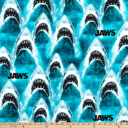 Universal Jaws Classic Jaws Bright Blue Fabric