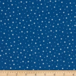 Kimberbell Little One Flannel Too! Random Dots Blue