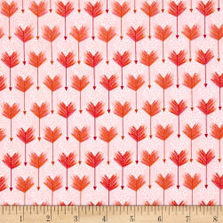 Modern Tyke Arrows Pink Fabric