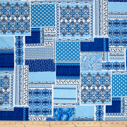 Let Freedom Ring Patchwork Blue/White