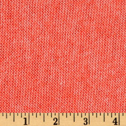 Lightweight Marled Sweater Knit Neon Coral