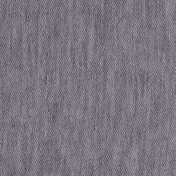 Stretch French Terry Heather Gray Fabric