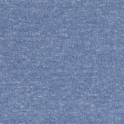 Tri Blend French Terry Knit Chambray Fabric