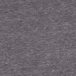 Tri Blend French Terry Heather Gray Fabric
