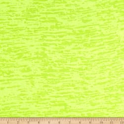 Splash Burnout Jersey Knit Neon Yellow Fabric