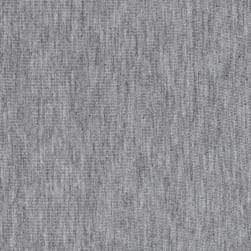Heavy Rayon Spandex Jersey Heather Gray Fabric