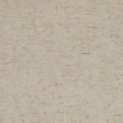 Soft Spun Jersey Knit Oatmeal Fabric