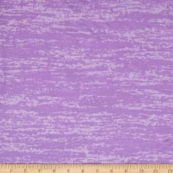 Splash Burnout Jersey Knit Lavender Fabric