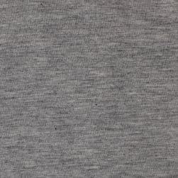 Rayon Spandex Jersey Knit Heather Gray Fabric