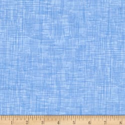 QT Fabrics Harmony Flannel Plaid Powder Blue Fabric