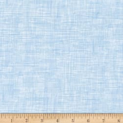 QT Fabrics Harmony Flannel Plaid Cloud Blue Fabric