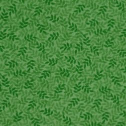 Harmony Flannel Leaf Spring Green Fabric