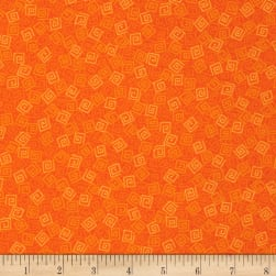 Harmony Flannel Squares Carrot Fabric