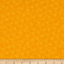 Harmony Flannel Squares Marigold Fabric