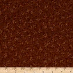 Harmony Flannel Squares Rust
