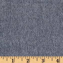 Chambray Gauze Indigo Fabric