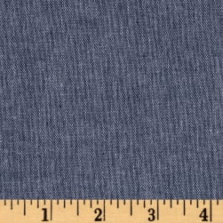 Stretch Chambray Indigo Fabric