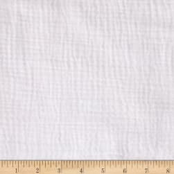 Heavy Cotton Gauze White Fabric
