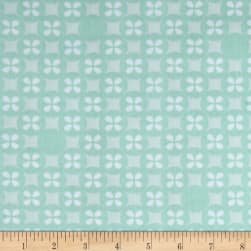 Kaufman Little Prints Double Gauze Silverdollar Mint Fabric
