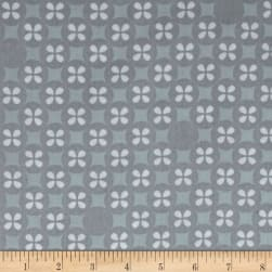 Kaufman Little Prints Double Gauze Silverdollar Grey Fabric