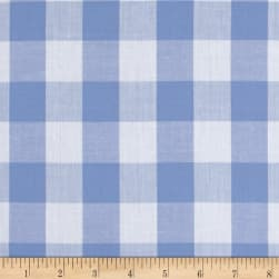 "Richcheck 60"" Gingham Check 1"" Blue"