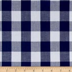 "Richcheck 60"" Gingham Check 1"" Navy"