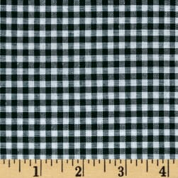 "Richcheck 60"" Gingham Check 1/8"" Hunter"