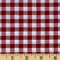 "Richcheck 60"" Gingham Check 1/4"" Berry"