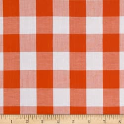 "Richcheck 60"" Gingham Check 1"" Orange"