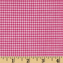 "Richcheck 60"" Gingham Check 1/16"" Fuchsia"