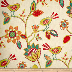 Richloom Cran Brook Fiesta Linen Fabric