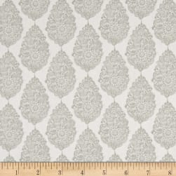Premier Prints Jersey Twill Snowy Gray Fabric