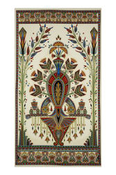 Kaufman Valley of the Kings Metallic 24'' Panel Spice Fabric