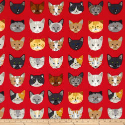 Kaufman Whiskers & Tails Cats In A Row