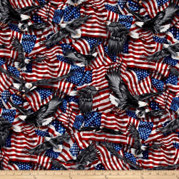 Kaufman Patriots Flags Americana Fabric
