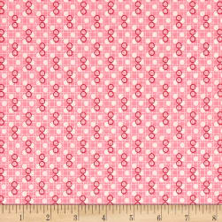 Kaufman Birds of Liberty Bubbles Camellia Fabric