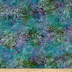 Kaufman Artisan Batiks Tiger Fish Ocean Fabric