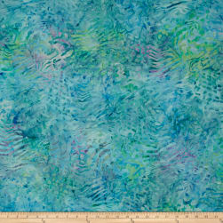Kaufman Artisan Batiks Tiger Fish Coral Water Fabric