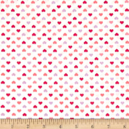 Kaufman Sevenberry Petite Classics Hearts Sweet Fabric