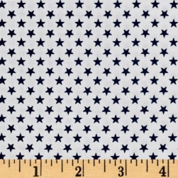 Kaufman Sevenberry Classiques Small Star Midnight Fabric