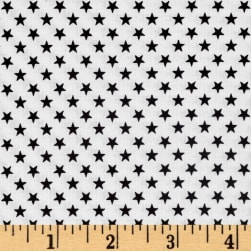 Kaufman Sevenberry Classiques Small Star Jet Fabric